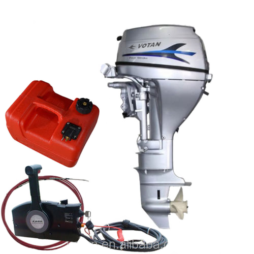 Votan 4 stroke 15hp outboard motor e start and remote for Electric outboard motors for sale