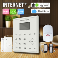 39 wireless/wire zones wifi gsm alarm system support 24CH home appliance remotely control by APP