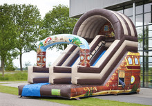 2016 Cool design inflatable slide funny commercial inflatable slide inflatable slip and slide for sale