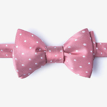 fashion colorful school uniform dot style bow ties for girls