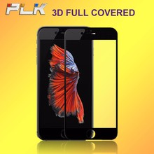 Clear Anti Static Full Cover Tempered Glass, High Definition 3D Curved Edge Full Cover Screen Protector For iPhone 7Plus