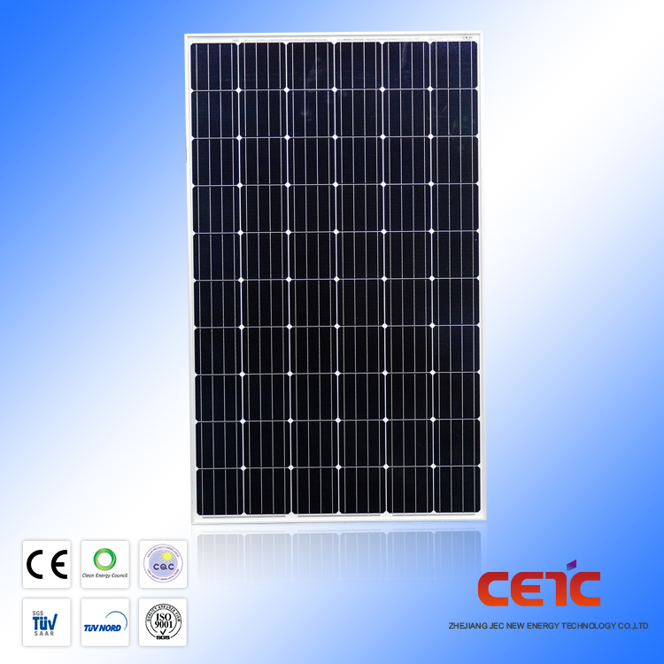 Hight eficiente al por mayor solar CETC 360 W panel solar monocristalino