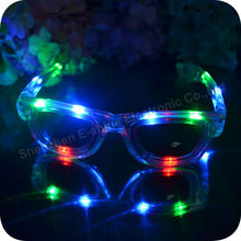 Flashing Novelty Led adult sunglasses