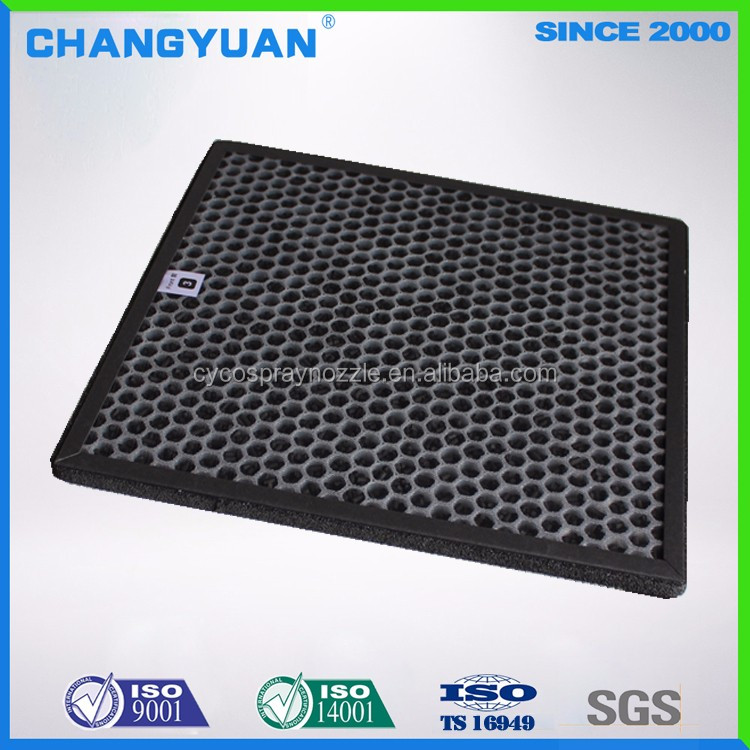 Modified Active Carbon Honeycomb Air Filter For Air Purifier, Formaldehyde Removal Filter