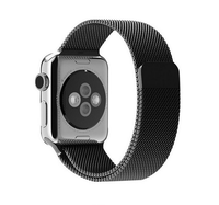 Black Band Smart Watch for Apple Ultra Strong Stainless Steel Band for Apple