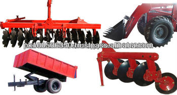 Disc Plough with Massey ferguson tractor Pakistan