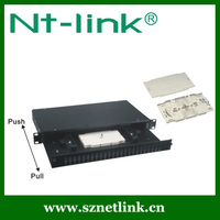 Easy Slided Duplex Adaptor 12 Port Fiber Optic Patch Panel