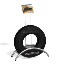 metal tire display stand rack