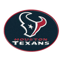 Wholesale Custom Design Texans Embroideried Patches Digitizing Iron on