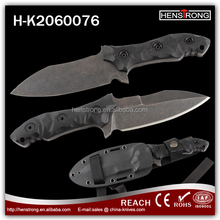 Factory directly sale handmade camping knives with ky sheath