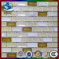 3d wall and floor tile glass golden porcelain glazed polished tiles wall standard ceramic wall tile sizes