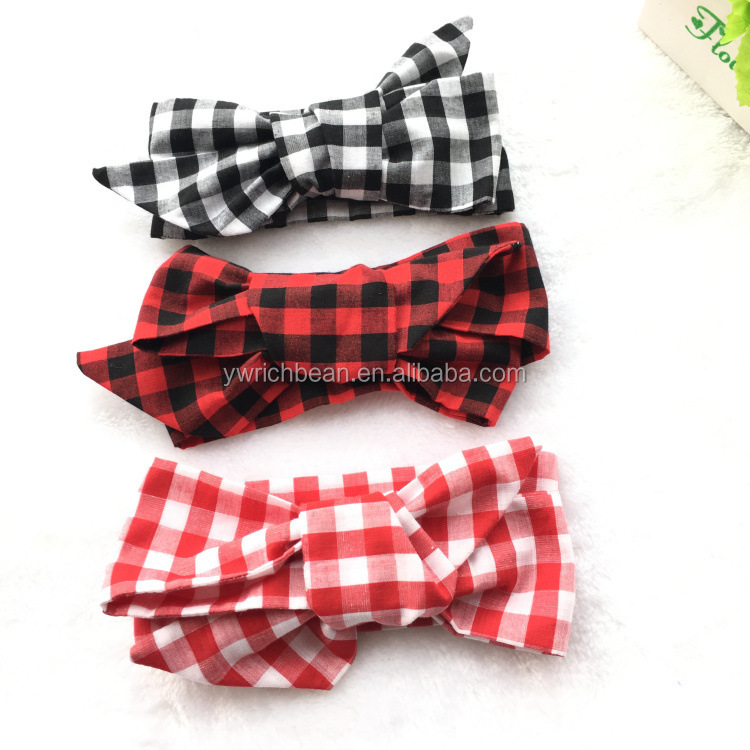 New kids DIY bow Headband mixed colors children large bow fabric Headband wh-2013