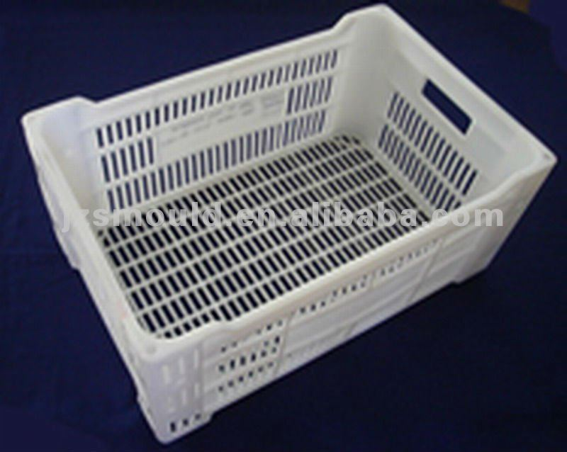 injection plastic mold for bread crate
