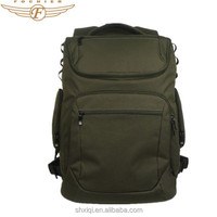 military style canvas backpack bag