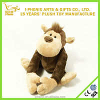 2014 wholesale factory direct sale stuffed plush monkey toy best quality plush monkey with long arms