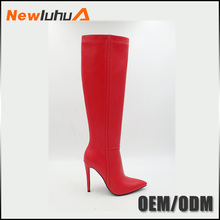 Wholesale Custom Beautiful design women pink boots