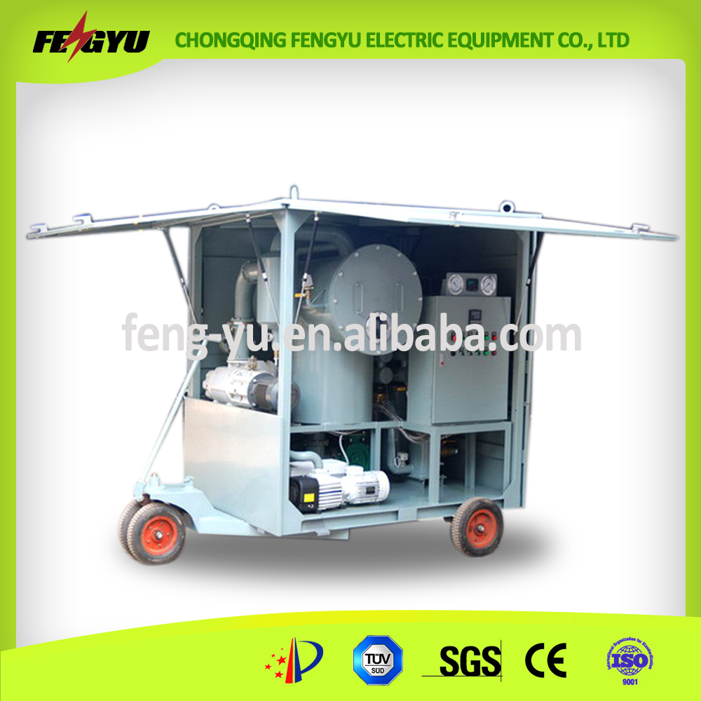 Two-Stage Vacuum Transformer oil purifier for Transformer Oil
