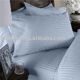 High quality 100% cotton sateen solid various color sheet set for home hotel use