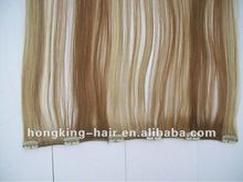 Top quality full head cheap clip in hair extensions