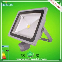die casting aluminium led flood light 20w wireless motion sensor led light