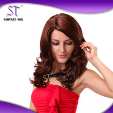 100 japanese hair fibre high tempreture synthetic fiber anna irish dance wig