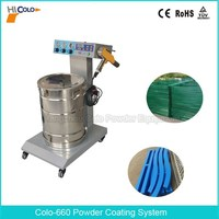 Durable Electrostatic Powder Coating Machine for Powder Paint Line