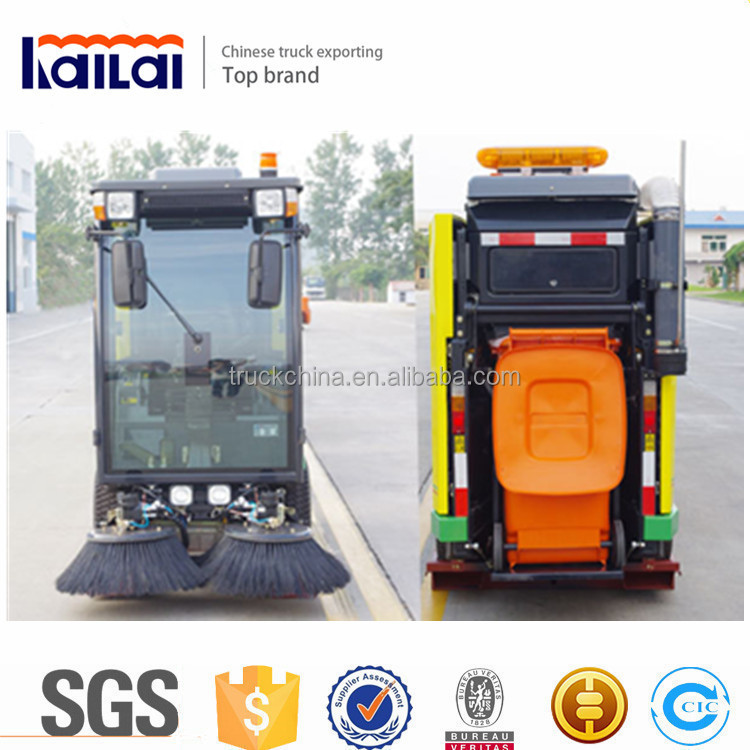 Mini Dust cleaner YHD21 road sweeper truck city cleaner truck for sale