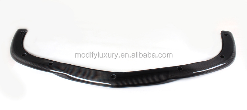 Carbon Fiber Front Lip Spoiler for Mercedes Ben z W204 C63 AMG