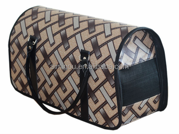 Pet Tote Crate Pet Carrier House Kennel Travel Soft Portable HandBag Dog Carrier