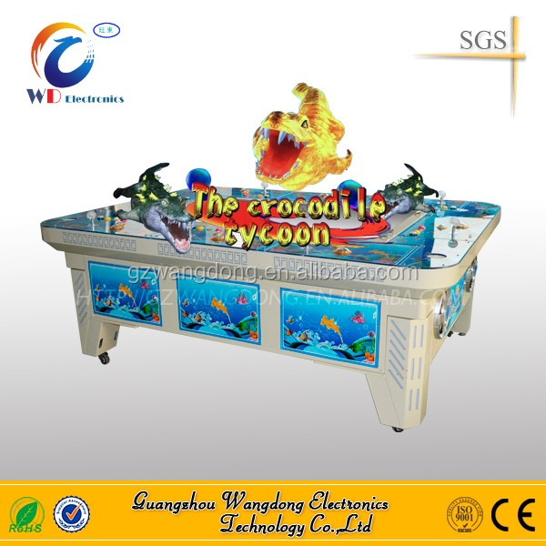classical IGS king of treasure fish hunter games adjustable version/crocodile fish demons