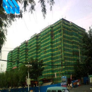 Green Plastic Construction Safety Debris net for building protection factory in changzhou