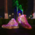 colorful rechargeable usb customized led light shoes for adults
