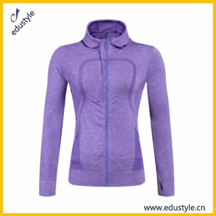 2017 Oem Wholesale Zip Up Women Playsuit Without Hoody