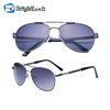 Brightlook CE FDA certificate metal frame uv400 polarized sunglasses