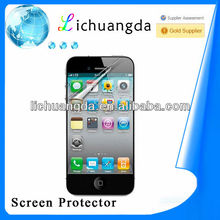 High clear screen protector film for iphone5