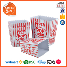 China Factory BPA Free Plastic and Melamine Popcorn Box with customized design