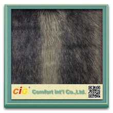 Fashion new design Plush false fur wholesale faux fur cheap fabrics with acrylic polyester