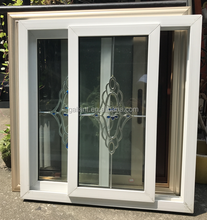 Foshan factory price UPVC sliding window/vinyl sliding window