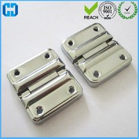 Nickle Plated Suitcase Hinges Mini Metal Butt Hinges