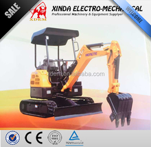 Mini Excavator Hunter HT21 2ton 0.06m3 Crawler Excavator for Sale Best price