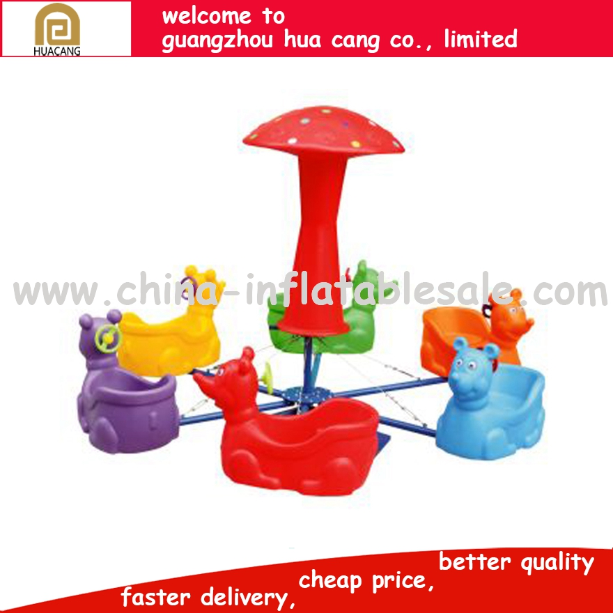 2016 Luxury amusement park equipment large merry go round, Magical Kids Ride Used Carousel Horse