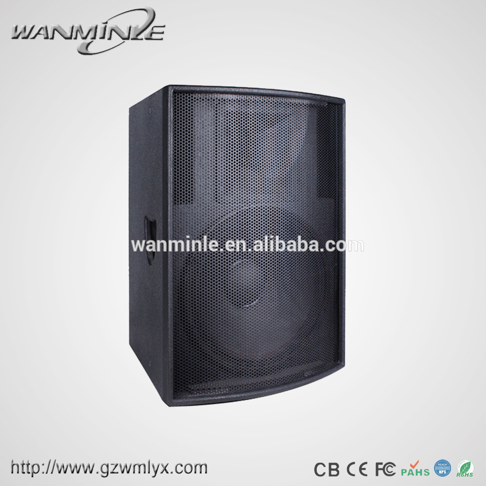 Best Selling Professional Stage Wooden Speaker 450W Powerful Hifi Passive Speaker