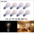dimmable bulb 2W 4W 6W 8W e27 A60 LED filament lamp