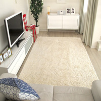 House design custom size anti-fatigue tufted silk rugs and carpets