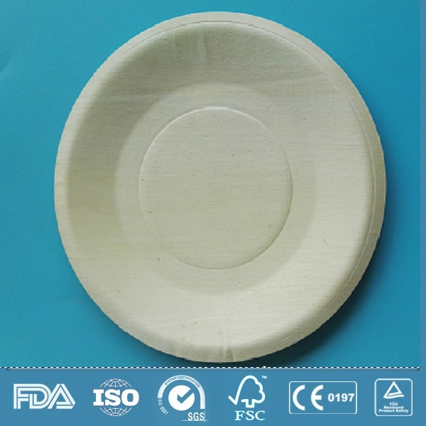 disposable wooden plate
