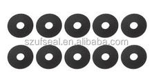 "Neoprene Rubber Fender Washers | 1"" OD X 1/4"" ID X 1/16"" 