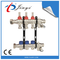 3 Branch PEX Stainless Steel Radiant