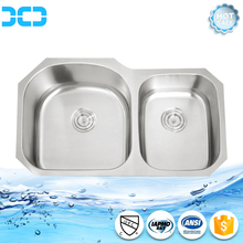 Undermount Double Bowl Stainless Steel Sink bath toilet sink with Reasonable Price