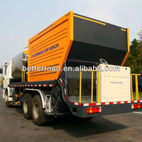 asphalt synchronous chip sealer,asphalt paving equipment,bitumen chip sealer