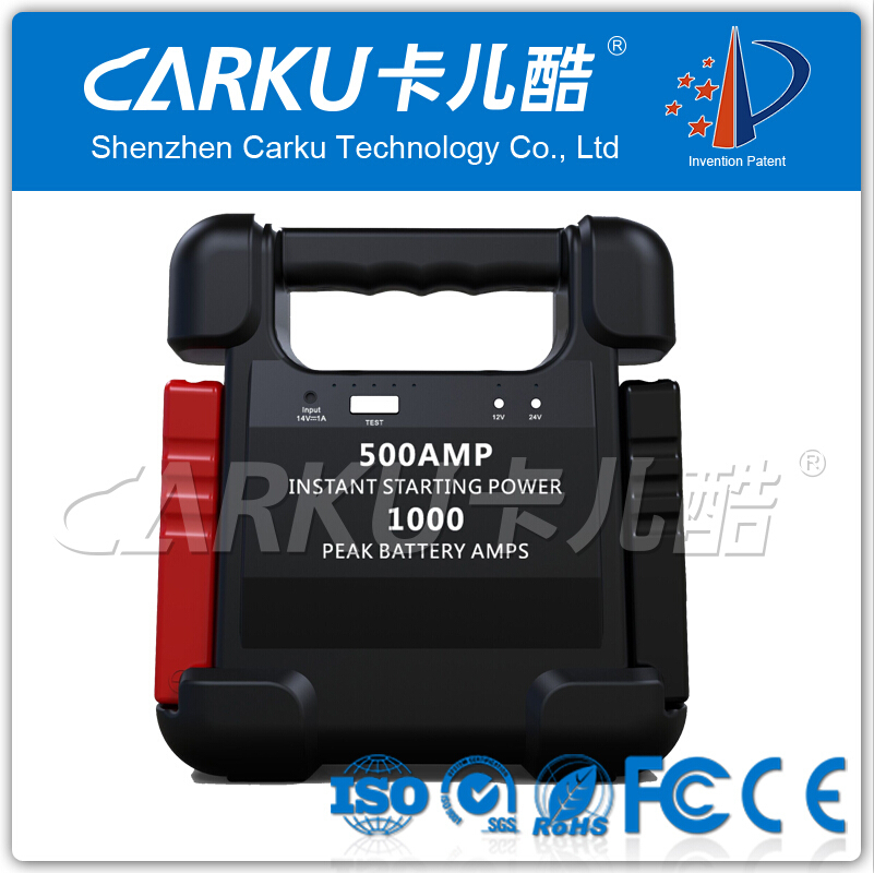 24000mAh 88.8WH 500A 1000A Mini Battery Booster for 12V 24V Cars